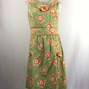 Retrolicious Modcloth Women's Plaid Ginger Dress